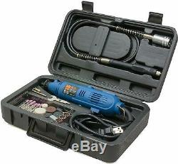 100 PIECE Dremel Tool Set Accessories Variable Speed Rotary Cutting Kit Grinder
