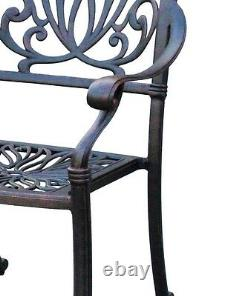 11 piece outdoor dining set patio cast aluminum furniture 10 person table