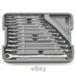 12 Piece XL GearBox Double Box Ratcheting Wrench Set- Metric KDT85988 Brand New