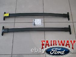 16 thru 19 Explorer OEM Genuine Ford Parts Black Roof Rack Cross Bar Set 2-piece