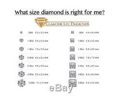 2 Ct Princess Cut 2 Piece Solid 14K White Gold Engagement Wedding Ring Band Set