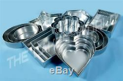 20 Pieces Combo Deal, 5 Sets Wedding Cake Tins 4 Tiers Sets