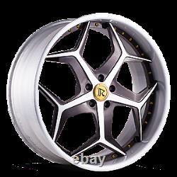 22 Custom Forged Wheels 2 Piece Standard 4 set Rucci Asanti Dub Amani Rims
