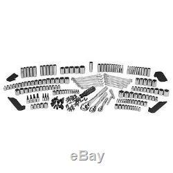 230 Piece Complete Craftsman Mechanic Tool Set Garage kit ratchet Socket Wrench