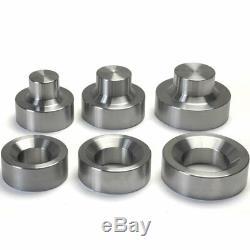 3 Piece Dimple Die Set 1-1/2 / 1 -3/4 / 2 metal fabrication tools