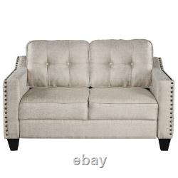 3 Piece Sectional Sofa Loveseat and Armchair Set For Living Room US Stock