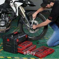 320-Piece Mechanics Tool Set with Storage Case Sockets, Ratchets, Repair Tool