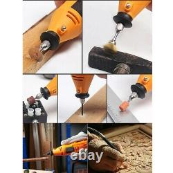 40 Pieces Hobby Craft Mini Drill Grinder Multi Rotary Tool Set Modeling Electric