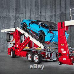 42098 LEGO Technic Car Transporter Truck & Show Cars 2-in-1 Model 2493 Pieces