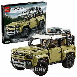 42110 LEGO Technic Land Rover Defender Collectable Set 2573 Pieces Age 11+