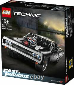 42111 LEGO Technic Dom's Dodge Charger Fast & Furious Car 1077 Pieces Age 10+