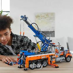 42128 LEGO Technic Heavy-duty Tow Truck with Crane includes 2017 Pieces Age 11+