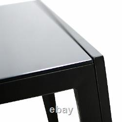 7 Piece Rectangular Dining Set Glass Table 6 Artificial Leather Chiars