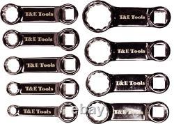9 Piece SAE 3/8 Drive Torque Adaptor Set T&E Tools 93227