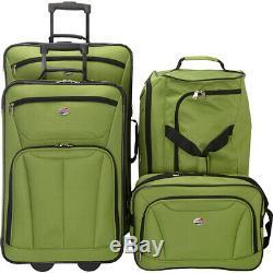 American Tourister Fieldbrook II 4-Piece Nested Luggage Luggage Set NEW