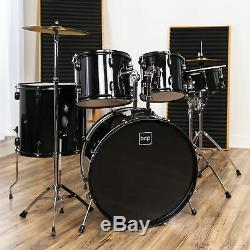 BCP 5-Piece Full Size Drum Set For Adults