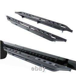 Blk Side Step Running Board fit 10-18 Ram 1500/2500/3500 Crew Cab Side Armor bar