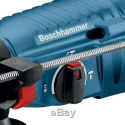 Bosch GBH225D 240v SDS Plus Rotary Hammer Drill 790w + 5 Piece SDS Bit Set +Case