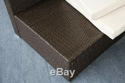 Brand New 7 Piece 3-7 Piece Patio PE Rattan Wicker Sofa Sectional Furniture Set