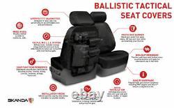 COVERKING Seat Covers CORDURA BALLISTIC Tactical Molle Backing Toyota FJ Cruiser