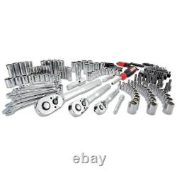 CRAFTSMAN 232-Piece Standard (SAE) and Metric Combination Polished Chrome Set