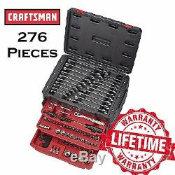 CRAFTSMAN 276 Piece Mechanics Tool Set w. 3 Drawer Chest Alloy Steel Metric SAE