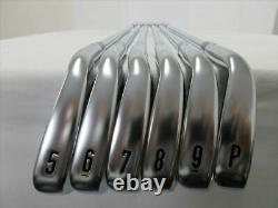 Callaway Iron Set X FORGED(2018) Stiff Open Box NS PRO 950GH (6 pieces)