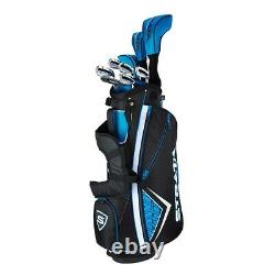 Callaway Strata 12 Piece Complete Golf Set with Bag Mens Right Hand New 2021