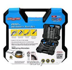 Channellock 39151 Mechanic's Tool Set 200 Piece