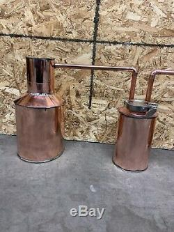 Christmas Special Order Now 1 Gallon Copper Pot Still 3 Piece Set Up