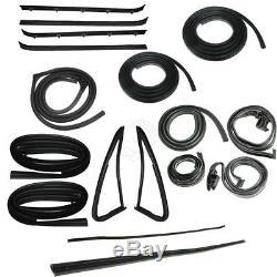 Complete Weatherstrip Kit 18 Piece Set for GMC Jimmy Chevy K5 Blazer Fullsize