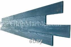 Concrete Stamp Mats 4 pieces Set. Woodgrain 3 1/2 Wood Plank Stamps SM 5200