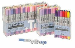 Copic I72B Ciao Markers Set B, 72-Piece