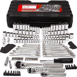 Craftsman 165 Piece 165 pc Mechanics Tool Set Kit Metric Ratchet Wrench Socket