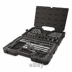 Craftsman 165 piece pc Mechanics Tool Set Standard Metric Socket Ratchet Wrench
