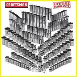 Craftsman 176-piece Pc 299 311 Easy Read Socket Set, 6 & 12 pt, 1/4, 3/8, 1/2 in