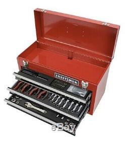 Craftsman 178 piece Mechanics Tool Set with 3 drawer Metal Box Ratchet Pliers