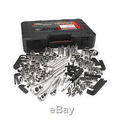 Craftsman 230 Pc Piece Standard Metric Mechanics Tool Set Socket Wrench Hex Keys