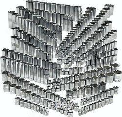 Craftsman 299-Piece Ultimate Socket Tool Set, Standard Deep SAE Metric Drive Kit
