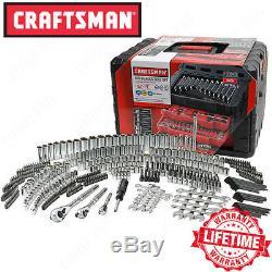 Craftsman 450-Piece Mechanics Tool Set, Socket Ratchet Hand Wrench Toolset
