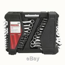 Craftsman 52pc Piece Combination Wrench Set Inch & Metric SAE Midget- 70699 NEW