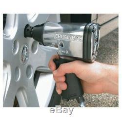 Craftsman Air Tool Set 10 Piece Impact Ratchet Wrench Mechanic Kit with Hard Case