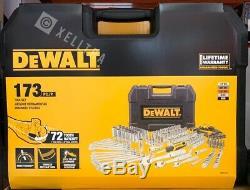 DEWALT 173 Piece Chrome Polish Mechanics Tool Set DWMT41019