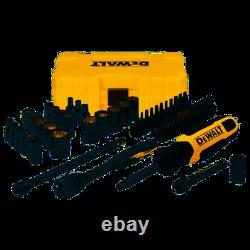 DeWALT 1/4 Drive 50 Piece Mechanics Tool Set Kit DWMT81610