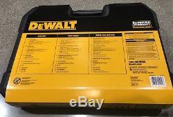 DeWalt 173 pc Polish Chrome Mechanics Tool Set DWMT41019 New in box 173 pieces