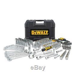DeWalt 173 piece Polished Chrome Mechanics Tool Set Brand New in box 173 pieces