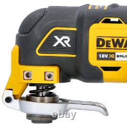DeWalt DCS355N 18V XR Brushless Oscillating Multi Tool With 29 Piece Acc. Set