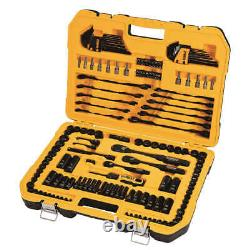 Dewalt 184-piece Polished Black Chrome Tool Set DWMT45184