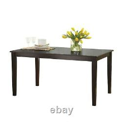 Dining Room Table Set Wooden Kitchen Tables And Chairs Sets Contemporary 7 Piece