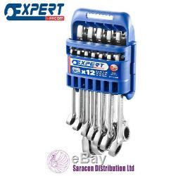Expert By Facom 12 Piece Metric Combination Ratchet Spanner Set E111106